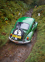06/10/18<br /> <br /> Samuel Holmes & Chris Wood, VW Beetle.<br /> <br /> After battling hours of heavy rain, competitors slither up a hill known as the corkscrew in near Kettleshulme in the Cheshire Peak District National Park. Hundreds of other cars and motorcycles took part in today's Edinburgh Trial. The Motorcyling Club's 94th annual long distance navigation trial started near Tamworth at midnight and finishes this afternoon near Buxton. The original trial ran from London to Edinburgh.<br /> <br /> All Rights Reserved: F Stop Press Ltd. +44(0)1335 344240  www.fstoppress.com www.rkpphotography.co.uk
