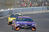 2017 Monster Energy NASCAR Cup Series<br /> O'Reilly Auto Parts 500<br /> Texas Motor Speedway, Fort Worth, TX USA<br /> Sunday 9 April 2017<br /> Denny Hamlin, FedEx Office Toyota Camry, Daniel Suarez, STANLEY Toyota Camry<br /> World Copyright: John K Harrelson/LAT Images<br /> ref: Digital Image 17TEX1jh_03841