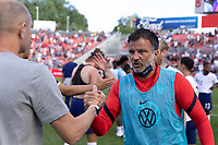 SANDY, UT - JUNE 10: Anthony Hudson during a game between Costa Rica and USMNT at Rio Tinto Stadium on June 10, 2021 in Sandy, Utah.