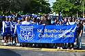 MIRAMAR,  FLORIDA - JANUARY 20: St. Bartholomew Catholic School participated in the annual Reverend Dr. Martin Luther King, Jr. Day celebration City Miramar MLK Parades between Sherman Cirrcle and Lakeshore Park on January 20, 2020 in Miramar, Florida.  ( Photo by Johnny Louis / jlnphotography.com )