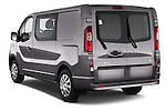 Car pictures of rear three quarter view of a 2015 Opel Vivaro Sportive 4 Door Combi 2WD Angular Rear