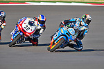 Alex Rins (42) in action during the Red Bull MotoGP of the Americas practice session at Circuit of the Americas racetrack in Austin,Texas. ..