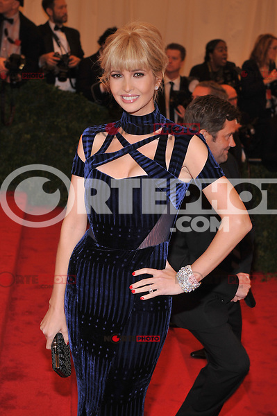 Ivanka Trump at the 'Schiaparelli And Prada: Impossible Conversations' Costume Institute Gala at the Metropolitan Museum of Art on May 7, 2012 in New York City. ©mpi03/MediaPunch Inc.