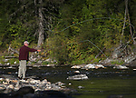 Flyfishing on Kelly Creek, near Pierce, Idaho, on Tuesday, Sept. 13, 2016. <br />Photo by Cathleen Allison