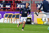 25th September 2021; Kilmac Stadium, Dundee, Scotland: Scottish Premiership football, Dundee versus Rangers; Leigh Griffiths of Dundee during the warm up