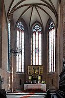 in der Kreuzkirche auf der Dominsel in Wroclaw (Breslau), Woiwodschaft Niederschlesien (Województwo dolnośląskie), Polen, Europa<br /> Inside Church of the Cross  on Cathedral Island in Wroclaw, Poland, Europe