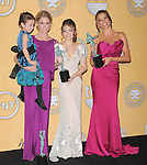 Julie Bowen,Sarah Hyland and Sofia Vergara attends the 18th Annual Screen Actors Guild Awards held at The Shrine Auditorium in Los Angeles, California on January 29,2012                                                                               © 2012 Hollywood Press Agency