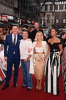 "David Walliams, Simon Cowell, Ant McPartlin Amanda Holden and Alesha Dixon<br /> arrives to film for ""Britain's Got Talent"" 2017 at the Palladium, London.<br /> <br /> <br /> ©Ash Knotek  D3222  29/01/2017"