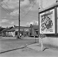 Street scene in Daytona Beach, Florida. February 1943.<br /> <br /> Photo by Gordon Parks.
