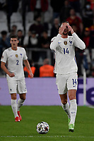 Adrien Rabiot of France during the Uefa Nations League semi-final football match between Belgium and France at Juventus stadium in Torino (Italy), October 7th, 2021. Photo Andrea Staccioli / Insidefoto