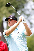 3rd July 2021, Detroit, MI, USA;   Tom Lewis hits his tee shot on the second hole on July 3, 2021 during the Rocket Mortgage Classic at the Detroit Golf Club in Detroit, Michigan.
