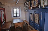 Europe/France/Bretagne/29/Finistère/Ile d'Ouessant/Ecomusée de Niou: Maison des techniques et traditions ouessantines - Détail intérieur