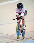 MILTON, ON, AUGUST 11, 2015. Cycling at the Velodrome. Canadian Marie Claude-Molnar (C-4W).<br /> Photo: Dan Galbraith/Canadian Paralympic Committee