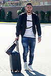 Spain's Koke Resurreccion arrives to the national football team stage. March 20,2017.(ALTERPHOTOS/Acero)