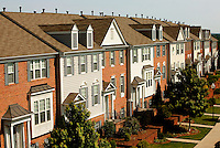 The Ballantyne NC townhome community of Sterling Heights  has three villages of Charleston Place: The Battery, Sterling Heights, and Ivy Ridge. Ballantyne is a suburb of Charlotte NC, and is located near the South Carolina border. The 2,000-acre mixed-use development was created by land developer Howard C. Smokey Bissell.