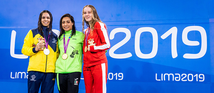 Arianna Hunsicker, Lima 2019 - Para Swimming // Paranatation.<br /> Arianna Hunsicker competes in Para Swimming // Arianna Hunsicker participe en paranatation. 26/08/2019.