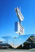 Las Vegas: Silverbird--entrance. Photo '79.