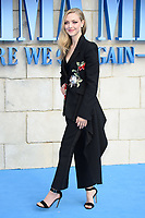 "Amanda Seyfried<br /> arriving for the ""Mama Mia! Here We Go Again"" World premiere at the Eventim Apollo, Hammersmith, London<br /> <br /> ©Ash Knotek  D3415  16/07/2018"