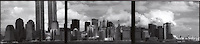 Triptych of Manhattan skyline<br />