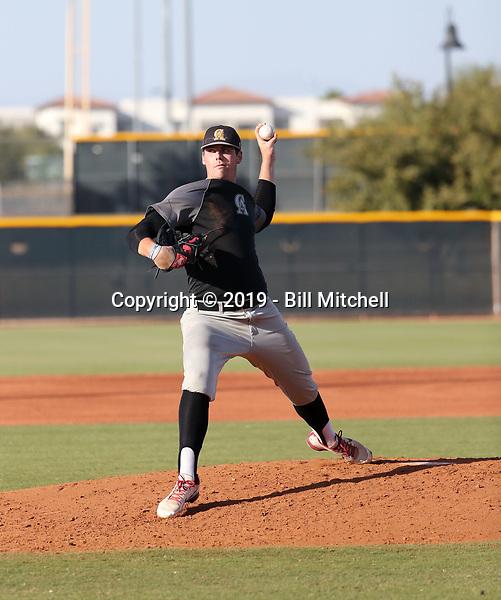 Kyler Bush - 2019 Central Arizona College Vaqueros - fall season (Bill Mitchell)