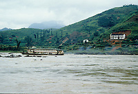 Traveling up the Yangtze in China