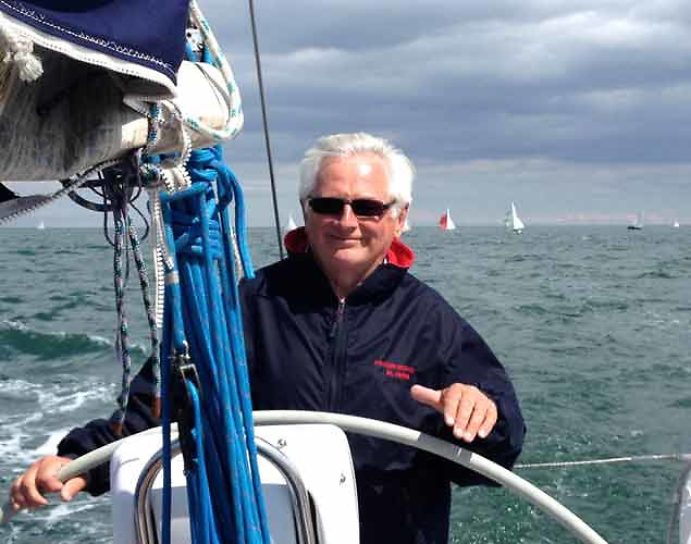 The spirit of Dublin Bay Sailing Club is found in many volunteers, and not least in current Honorary Secretary Chris Moore