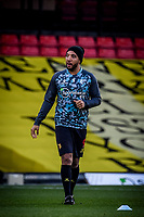7th November 2020; Vicarage Road, Watford, Hertfordshire, England; English Football League Championship Football, Watford versus Coventry City; Watford's Troy Deeney could make an appearance today from the bench after a long lay off through injury.