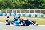 Aidan Read of Australia and Eurasia Motorsport drives the Formula Masters China Series as part of the 2015 Pan Delta Super Racing Festival at Zhuhai International Circuit on September 20, 2015 in Zhuhai, China.  Photo by Moses Ng/Power Sport Images