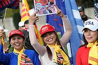 Vietnamese Americans Rep rally