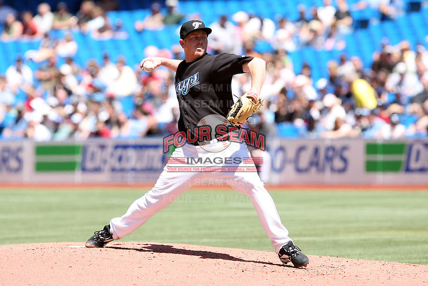 May 24th 2009:  Starting pitcher Jesse Litsch (51) of the Toronto Blue Jays during a game at the Rogers Centre in Toronto, Ontario, Canada .  Photo by:  Mike Janes/Four Seam Images