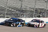 #11: Denny Hamlin, Joe Gibbs Racing, Toyota Camry FedEx Office #19: Martin Truex Jr., Joe Gibbs Racing, Toyota Camry SiriusXM