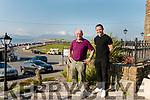 Outside Rosspoint Connie & Darran O'Sullivan