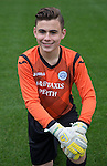 St Johnstone FC Academy U15's<br /> Jamie McPherson<br /> Picture by Graeme Hart.<br /> Copyright Perthshire Picture Agency<br /> Tel: 01738 623350  Mobile: 07990 594431
