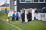 Fraserburgh 2 Strathspey Thistle 2, 06/11/2010. Bellslea Park, Highland League. The coaching staff and substitute players watching the action at Bellslea Park, during Fraserburgh's Highland League fixture against visitors Strathspey Thistle. Nicknamed 'The Broch,' Fraserburgh have been members of the Highland League since 1921 having been formed 11 years earlier. The match ended in a 2-2 draw in front of a crowd of 302. Photo by Colin McPherson.