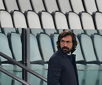 Football Soccer: UEFA Champions League -Round of 16 2nd leg Juventus vs FC Porto, Allianz Stadium. Turin, Italy, March 9, 2021.<br /> Juventus' coach Andrea Pirlo during the Uefa Champions League football soccer match between Juventus and Porto at Allianz Stadium in Turin, on March 9, 2021.<br /> UPDATE IMAGES PRESS/Isabella Bonotto