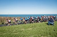 racing along the Adriatic Sea<br /> <br /> Stage 6 from Castelraimondo to Lido di Fermo (169km)<br /> <br /> 56th Tirreno-Adriatico 2021 (2.UWT) <br /> <br /> ©kramon