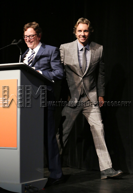 David Dobkin and Dax Shepard attends the Tiff Presentation for 'The Judge' at Roy Thomson Hall on September 4, 2014 in Toronto, Canada.