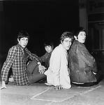 The Who 1966 Pete Townshend, Keith Moon, Roger Daltrey and John Entwistle ..© Chris Walter..