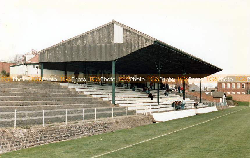 General view of Catterick Garrison Central Stadium, Catterick Garrison, Catterick, North Yorkshire, pictured on 19th April 1992