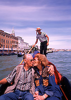 travel, tourism, vacation, relaxation, leisure, retirement, love, Europe, European, celebration, alcoholic beverages. Venice, Italy.