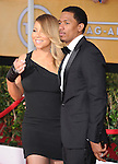 Mariah Carey and Nick Cannon  at The 20th SAG Awards held at The Shrine Auditorium in Los Angeles, California on January 18,2014                                                                               © 2014 Hollywood Press Agency