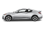Car Driver side profile view of a2015 Hyundai Genesis Coupe 3.8T 8-Speed A/T 2 Door Coupe 2WD Side View