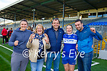 The Griffin family celebrate Fiona Griffin captaining Castleisland Desmonds in their Intermediate Championship final win over Chorca Dhuibhne in Fitzgerald Stadium l-r: Ciara Kathleen, Denis Fiona Griffin and James McDonnell