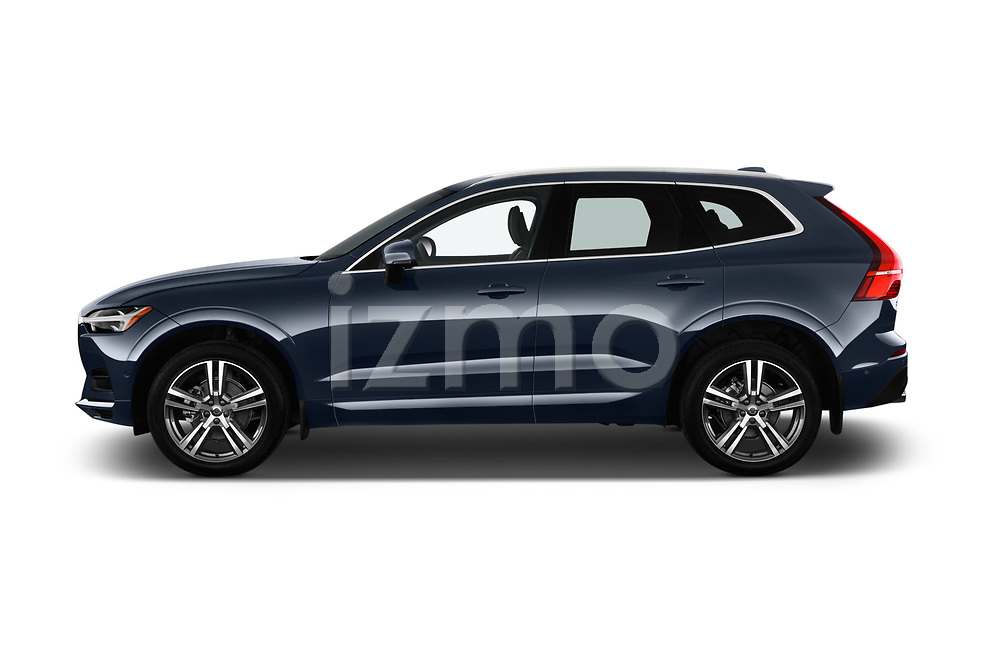 Car driver side profile view of a 2018 Volvo XC60 T5 Momentum 4WD 5 Door SUV