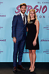 "Sergio Ramos and Georgia Brown attends to ""El Corazon De Sergio Ramos"" premiere at Reina Sofia Museum in Madrid, Spain. September 10, 2019. (ALTERPHOTOS/A. Perez Meca)"