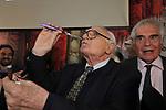 MARCO PANNELLA<br /> FESTA DEGLI 85 ANNI DI MARCO PANNELLA<br /> SEDE PARTITO RADICALE  ROMA 2015