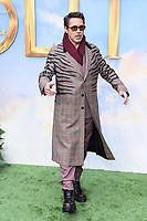 "Robert Downey Jr.<br /> arriving for the ""Dolittle"" premiere at the Empire Leicester Square, London.<br /> <br /> ©Ash Knotek  D3549 25/01/2020"