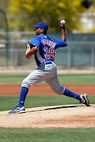 Jose Ascanio - Chicago Cubs - 2009 spring training.Photo by:  Bill Mitchell/Four Seam Images