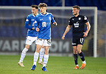 St Johnstone v Dundee….03.04.19   McDiarmid Park   SPFL<br />Jordan Northcott making his saints debut<br />Picture by Graeme Hart. <br />Copyright Perthshire Picture Agency<br />Tel: 01738 623350  Mobile: 07990 594431