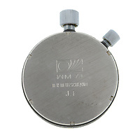 BNPS.co.uk (01202) 558833. <br /> Pic: FellowsAuctioneers/BNPS<br /> <br /> With Video - https://we.tl/t-b8hueJpc4M <br /> <br /> A stopwatch used by English football referee Jack Taylor to time the 1974 World Cup final is going under the hammer.<br /> <br /> The piece of football history assisted Taylor when awarding two penalties in the first 30 minutes of the match – including the fastest ever given in a World Cup final.<br /> <br /> The Omega watch is being sold by Taylor's family for an estimated £5,000 at auctioneers Fellows of Birmingham.